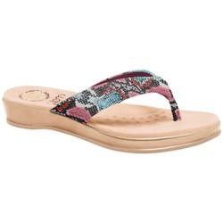 Chinelo Confort - Coral Hortênsia - MA128157CO - Pé Relax Sapatos Confortáveis