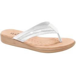 Chinelo Anatômico Feminino - Branco - MA14035BR - Pé Relax Sapatos Confortáveis