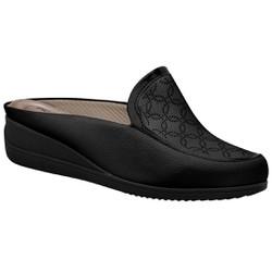 Babuche Feminino - Preto - PI117059PT - Pé Relax Sapatos Confortáveis