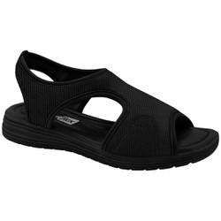 Sandália Proteção Dos Pés - Preta - CF2051304PT - Pé Relax Sapatos Confortáveis