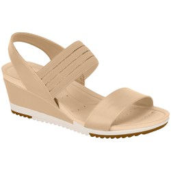 Anabela Confortável - Bege - MO7123107BG - Pé Relax Sapatos Confortáveis