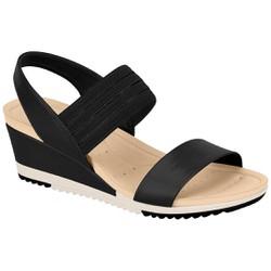 Anabela Confortável - Preta - MO7123107PT - Pé Relax Sapatos Confortáveis