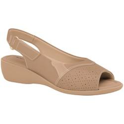 Sandália Esporão e Fascite com Velcro - Areia - PI416080ARE - Pé Relax Sapatos Confortáveis