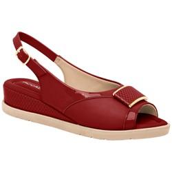 Sandália Esporão e Fascite - Rubi - PI458002RU - Pé Relax Sapatos Confortáveis