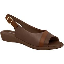 Sandália Esporão e Fascite - Madeira - PI500248MA - Pé Relax Sapatos Confortáveis