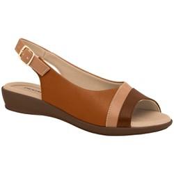Sandália Esporão e Fascite - Ocre - PI500248OC - Pé Relax Sapatos Confortáveis