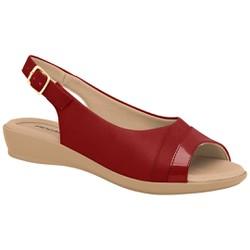 Sandália Esporão e Fascite - Rubi - PI500248RU - Pé Relax Sapatos Confortáveis