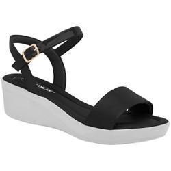 Sandália Feminina para Esporão - Preta - PI565010PT - Pé Relax Sapatos Confortáveis