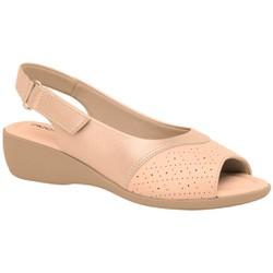 Sandália Confort Joanete e Esporão - Rose Gold - PI416080RG - Pé Relax Sapatos Confortáveis