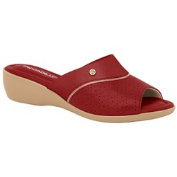 Tamanco Fascite Plantar e Joanete - Rubi - PI416078RB - Pé Relax Sapatos Confortáveis