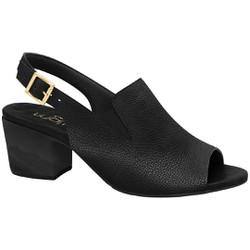 Sandália Ankle Boot Confortável - Mini Relax Preta - MA176099MPT - Pé Relax Sapatos Confortáveis