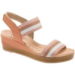 Anabela Comfort Dia a Dia - Rose - MA360040BG - Pé Relax Sapatos Confortáveis