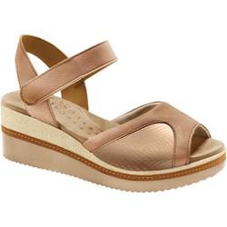 Sandália Anabela para Joanete - Mini Relax Antique - MA581025MRA - Pé Relax Sapatos Confortáveis