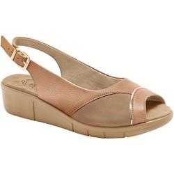 Sandália Para Joanete E Fascite - Antique / Choco - MA585013AC - Pé Relax Sapatos Confortáveis