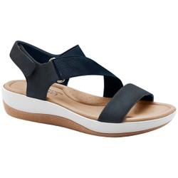 Sandália Feminina para Esporão - Azul - MA832005AZ - Pé Relax Sapatos Confortáveis