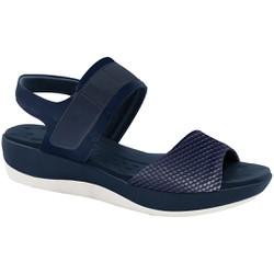 Sandália Ortopédica - Azul - MA832002AZ - Pé Relax Sapatos Confortáveis