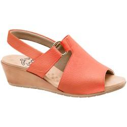 Sandália Comfort Feminina - Moranga - MA206051MO - Pé Relax Sapatos Confortáveis