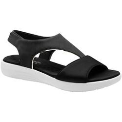 Sandália Ortopédica - Preta - MA214012PT - Pé Relax Sapatos Confortáveis