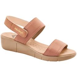Sandália Ortopédica Feminina - Pele - MA585030PL - Pé Relax Sapatos Confortáveis