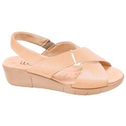Sandália Ortopédica Feminina - New Indiana / Snake Antique - MA585004M - Pé Relax Sapatos Confortáveis
