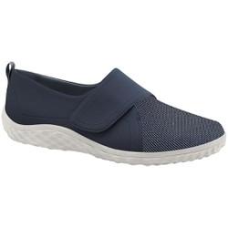 Sapatilha com Velcro Feminina - Azul - MA421047AZ - Pé Relax Sapatos Confortáveis