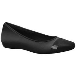 Sapatilha Confortável Feminina - Lycra Preta - MA861001LP - Pé Relax Sapatos Confortáveis