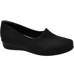 Sapato Feminino Boneca - Preto - MA302000PT - Pé Relax Sapatos Confortáveis