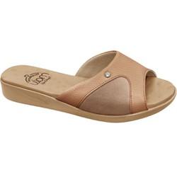 Tamanco Joanete e Esporão - Mini Relax Antique / Choco Shake - MA14039ACS - Pé Relax Sapatos Confortáveis