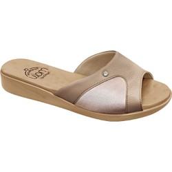 Tamanco Joanete e Esporão - Lycra Ivory - MA14039LI - Pé Relax Sapatos Confortáveis