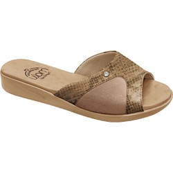 Tamanco Joanete e Esporão - Suotira Antique / Choco - MA14039ST - Pé Relax Sapatos Confortáveis