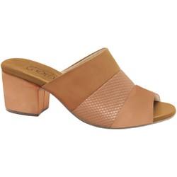 Tamanco Mule Feminino Confortável - Nassau Snake Antique - MA176074BE - Pé Relax Sapatos Confortáveis