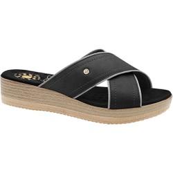 Tamanco Anatômico Feminino - Preto - MA537039PT - Pé Relax Sapatos Confortáveis