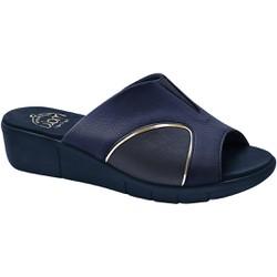 Tamanco Joanete, Esporão E Fascite Plantar - Navy - MA585018A - Pé Relax Sapatos Confortáveis