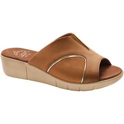 Tamanco para Joanete - Caramelo - MA585018PL - Pé Relax Sapatos Confortáveis