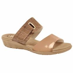 Tamanco Anatômico Fascite e Esporão - Nassau Branco Antique - MA10063NA - Pé Relax Sapatos Confortáveis
