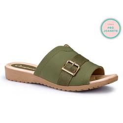 Tamanco Fascite Plantar - Militar - CAL7271VD - Pé Relax Sapatos Confortáveis