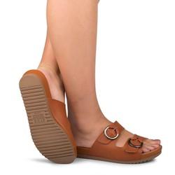 Birken Feminina Confortável - Mascavo - DAZ5851MV - Pé Relax Sapatos Confortáveis