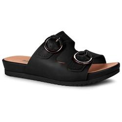 Birken Feminina Confortável - Preto - DAZ5851PT - Pé Relax Sapatos Confortáveis