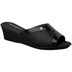 Tamanco Joanete e Esporão - Preto - PI153051PT - Pé Relax Sapatos Confortáveis