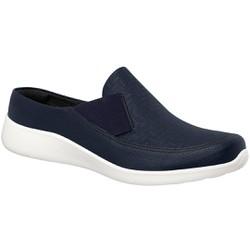 Babuche para Esporão e Fascite Plantar - Azul - PI216007AZ - Pé Relax Sapatos Confortáveis