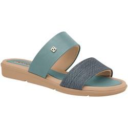 Tamanco Esporão e Fascite - Azul e Areia - PI401243AZ - Pé Relax Sapatos Confortáveis