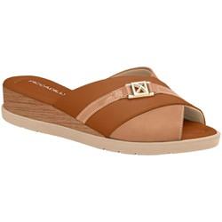 Tamanco Fascite e Esporão - Ocre - PI458001OC - Pé Relax Sapatos Confortáveis