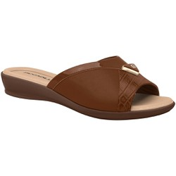 Tamanco Fascite E Esporão - Madeira - PI500252MA - Pé Relax Sapatos Confortáveis