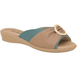 Tamanco Feminino Fascite E Esporão - Azul / Str - PI500259AZ - Pé Relax Sapatos Confortáveis