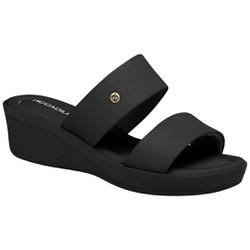 Tamanco Feminino para Esporão de Calcâneo - Preto - PI565007PT - Pé Relax Sapatos Confortáveis