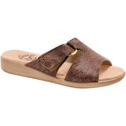 Tamanco Ortopédico Feminino - Python Antique / Preto - MA14042PAP - Pé Relax Sapatos Confortáveis