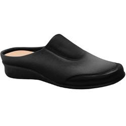 Babuche Feminino para Joanete e Esporão - Preto - MA302008P - Pé Relax Sapatos Confortáveis