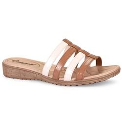 Tamanco Feminino Comfort - Duna - CAL6815DN - Pé Relax Sapatos Confortáveis