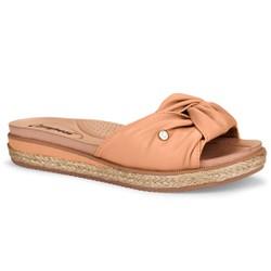 Tamanquinho Confortável - Bege - CAL6961ND - Pé Relax Sapatos Confortáveis