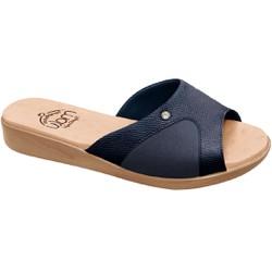 Tamanco Joanete e Esporão - Azul - MA14039AZ - Pé Relax Sapatos Confortáveis